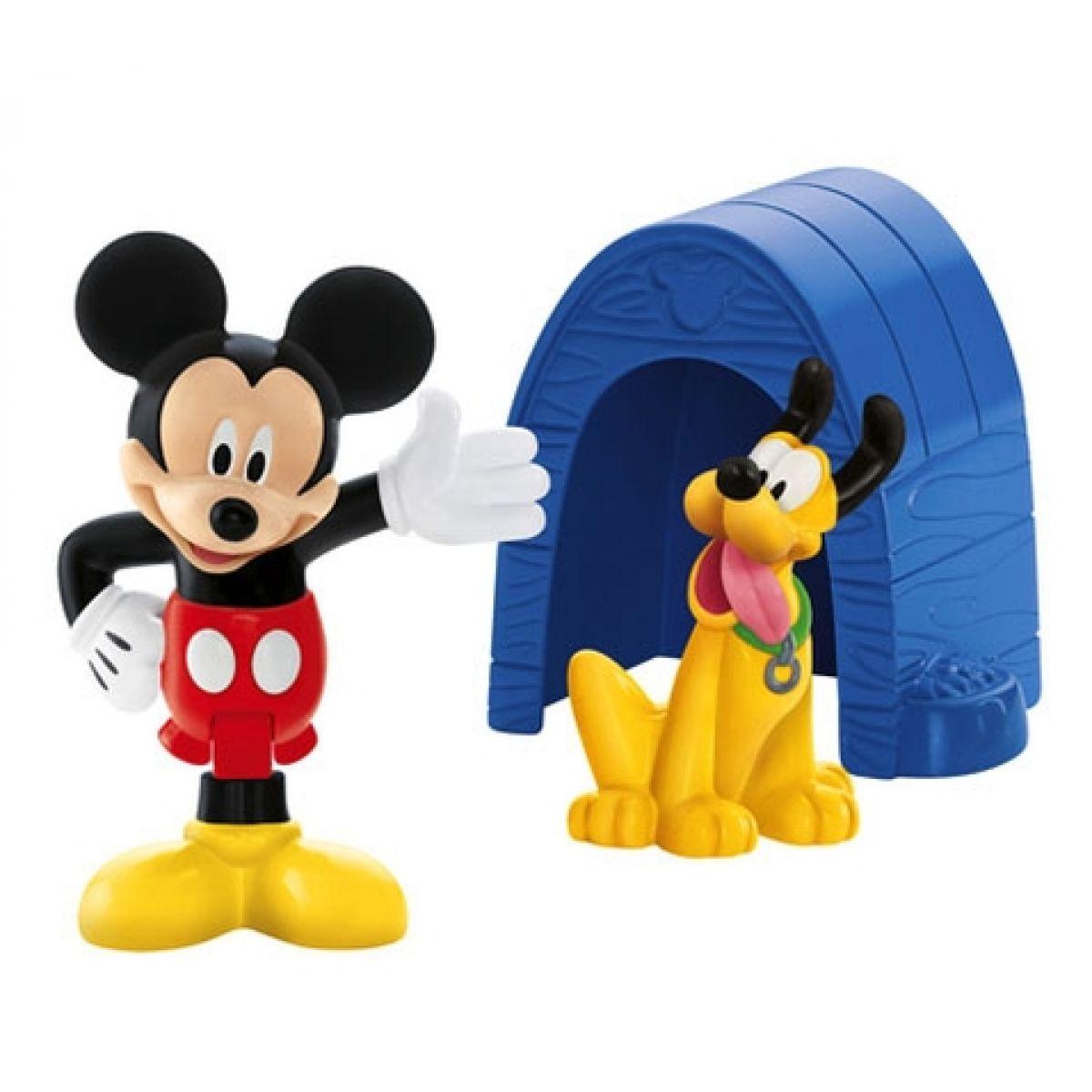 Fisher Price Sada Mickeyho sběratelských postaviček - Mickey a Pluto
