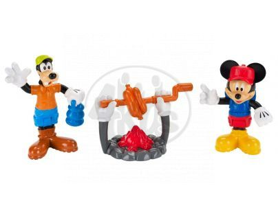 Fisher Price Sada Mickeyho sběratelských postaviček - Táborák