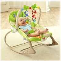 Fisher Price Baby Gear sedátko od miminka po batole rainforest (Fisher Price CBF52) 3