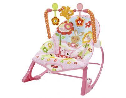 Sedátko od miminka po batole - růžové (Fisher Price Y8184)