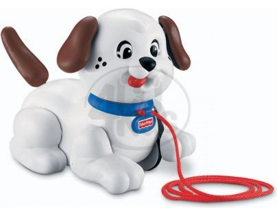 Fisher Price H9447 Tahací Snoopy - Bílá