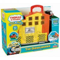 Fisher Price - Take-n-Play - Kufřík s vláčkodráhou DIESELWORKS V7638 5
