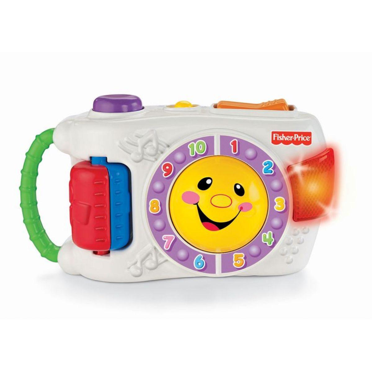 Fisher Price T5323 - Veselý mluvící fotoaparát