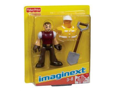 Fisher Price Imaginext kolekce figurek - R4325 Policejní těžkooděnec