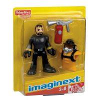 Fisher Price Imaginext kolekce figurek - R4325 Policejní těžkooděnec 2