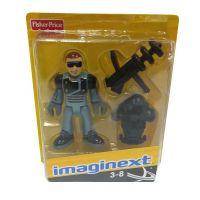 Fisher Price Imaginext kolekce figurek - R4325 Policejní těžkooděnec 4