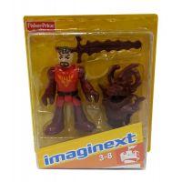 Fisher Price Imaginext kolekce figurek - R4325 Policejní těžkooděnec 6