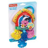 Fisher Price závěsná hračka Zvířátka z farmy 3
