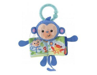 Fisher Price Závěsná knížka do kočárku - Opice