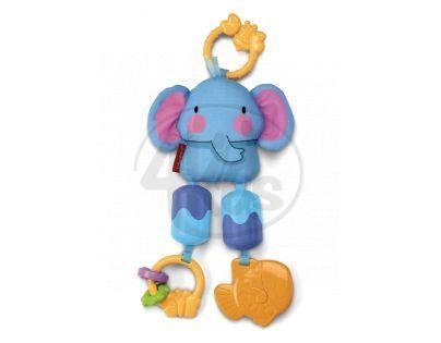 Fisher Price W9888 - Závěsný slon na kočárek
