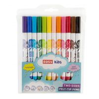 Easy Fixy Colours Oboustranné 12 barev vypratelné