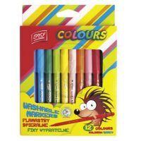Easyoffice Fixy vypratelné 12 barev