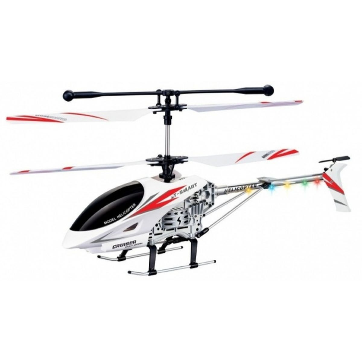 Fleg RC Helikoptéra Fleg Devil Gyro - Červená