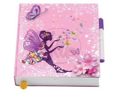 Flutterbye Motýlí deník - Modrý motýlek
