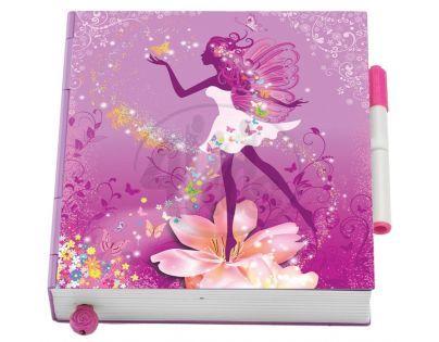 Flutterbye Motýlí deník - Růžový motýlek