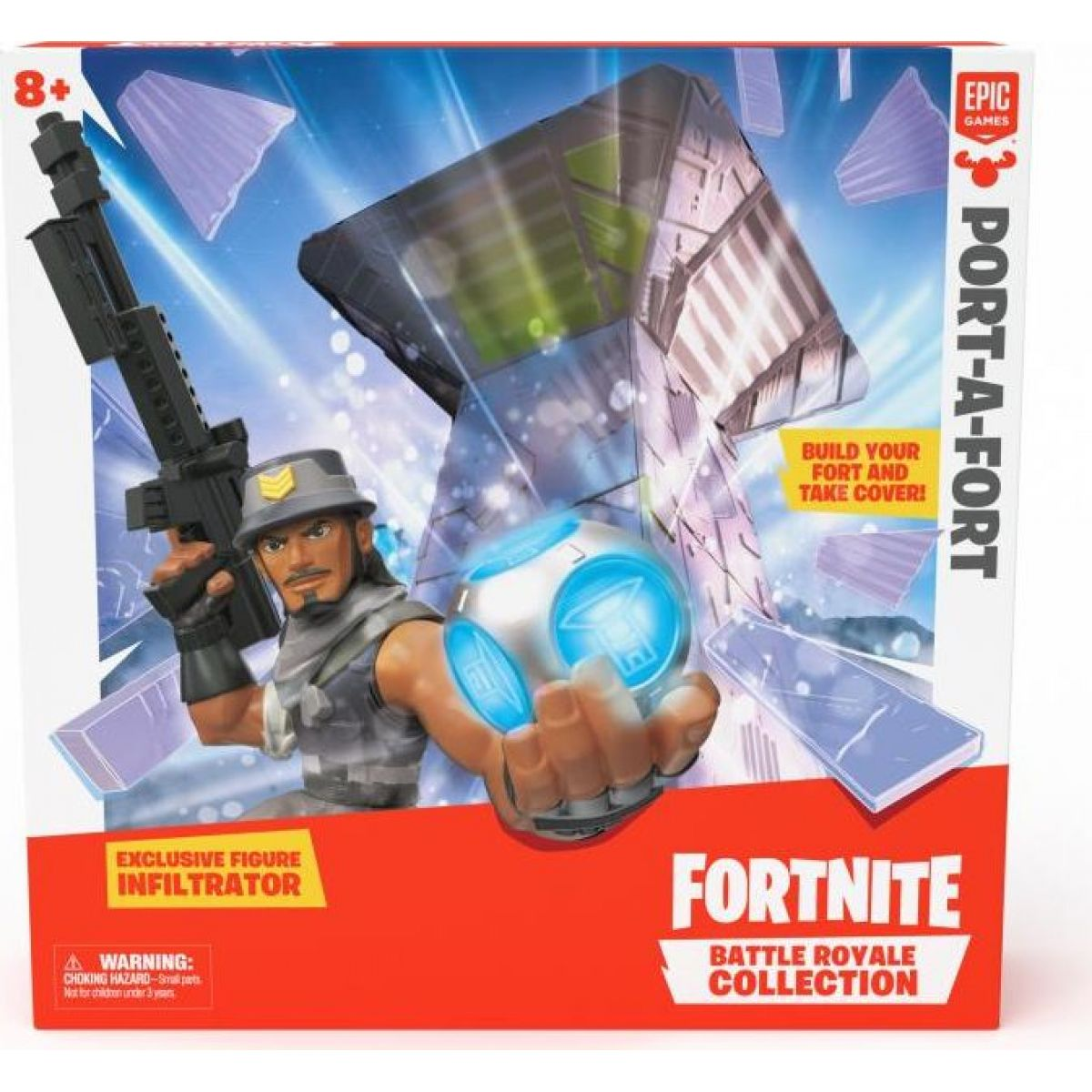 Black Fire Fortnite Pevnost Port-a-Fort