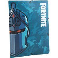 Made Fortnite Složka na sešity s gumou modrá