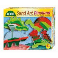 Lena Fotorámeček z barevným pískem Malý dinosaurus 1