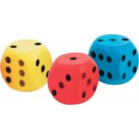 Frabar Soft kostka s puntíky 1-6 Žlutá 2