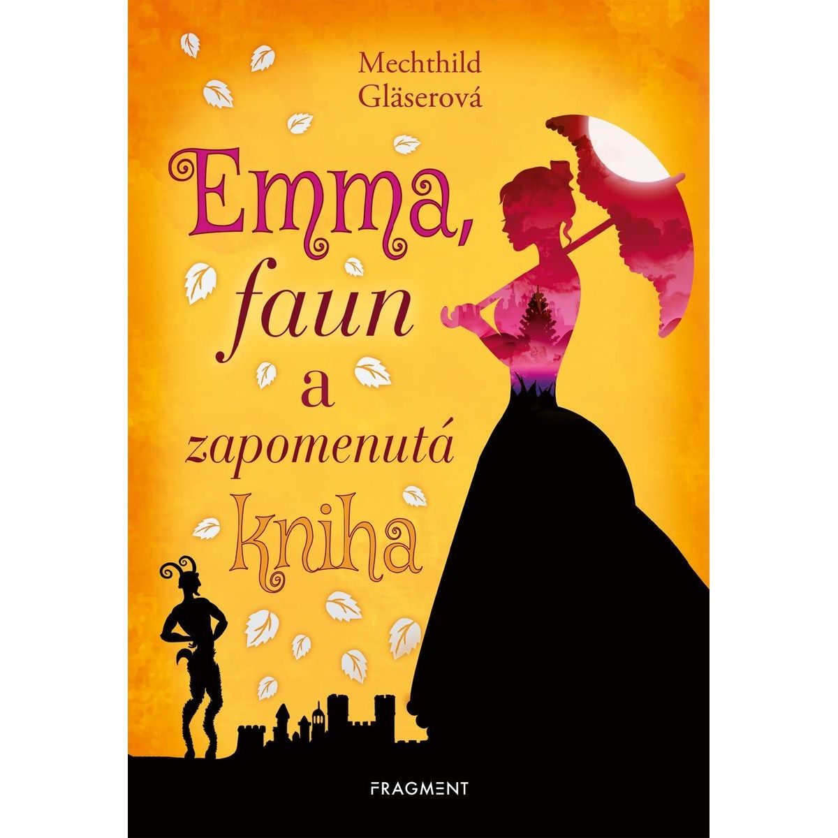 Fragment Emma, faun a zabudnutá kniha