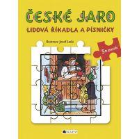 Fragment Lidová říkadla a písničky s puzzle - České jaro - Josef Lada