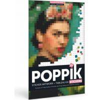 Poppik Samolepkový plakát Frida Kahlo portrét