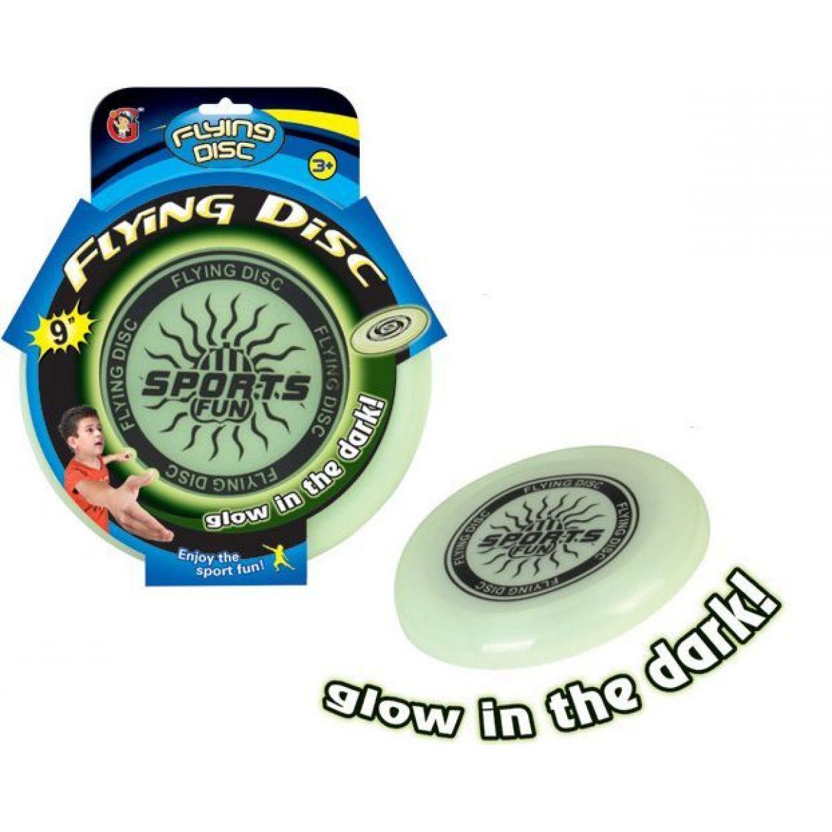 Frisbee svítící ve tmě