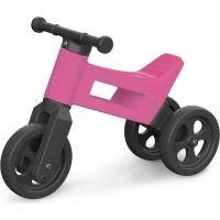 Funny Wheels Odrážedlo 2v1 růžové