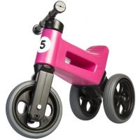 Funny Wheels Odrážedlo New Sport 2v1 růžové