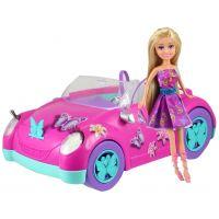 Funville Motýlí panenka Sparkle Girlz se stylovým autem