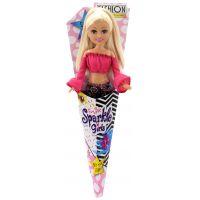 Funville Panenka v kornoutu Sparkle Girlz  kalhoty a růžový top