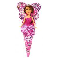 Funville Princezna v kornoutu Sparkle Girlz fialová sukně
