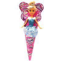 Funville Princezna v kornoutu Sparkle Girlz modrá sukně