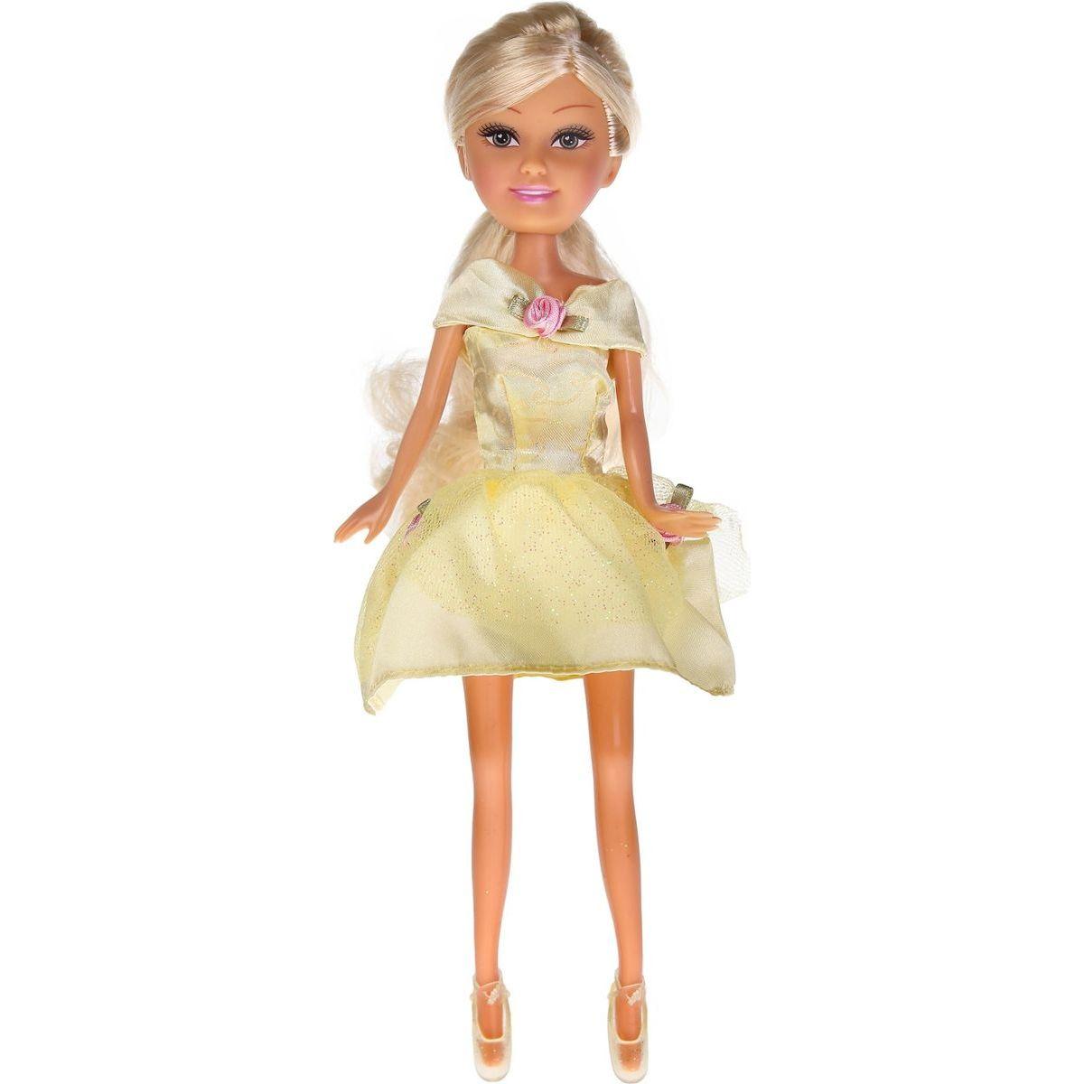 Funville Princezna v kornoutu Sparkle Girlz žlutá sukně