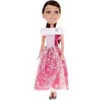 Funville Zimní princezna 50 cm Sparkle Girlz Růžové šaty s vločkami