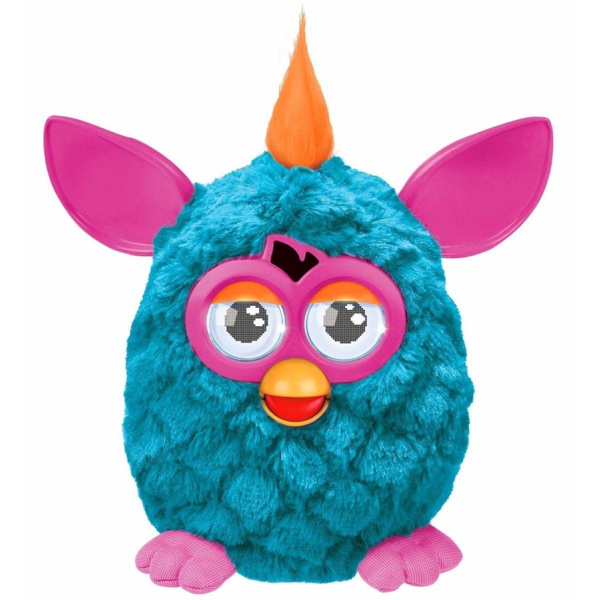 Furby Cool - A3147 Tyrkysový-růžové uši