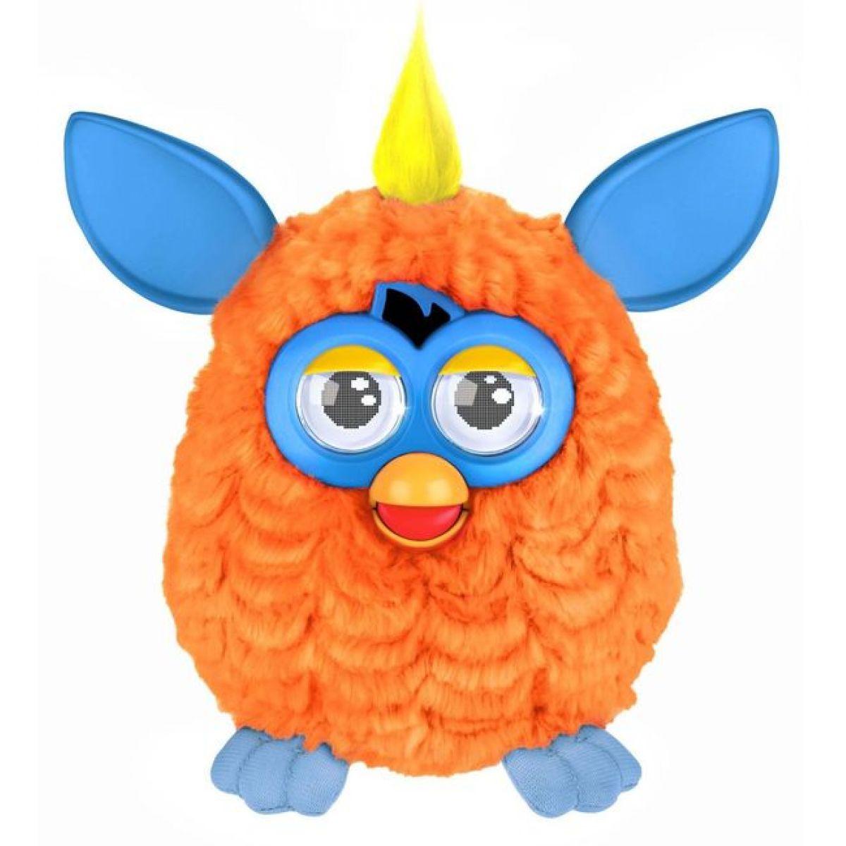 Furby Hot - Poškozený obal - A3121 Oranžový-modré uši