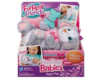 Hasbro A1647 - FurReal Friends - Zvířátko s krmením - méďa