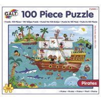 GALT 100 Puzzle v krabici - Piráti