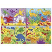 Galt Puzzle v krabici Dinosauři 4v1 2