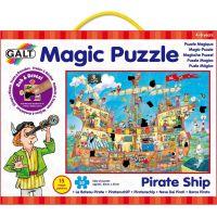 Galt Magické puzzle Pirátská loď 2