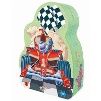 Galt Metalické puzzle Závodní formule