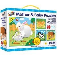 Galt Puzzle Mother and Baby Domácí mazlíčci