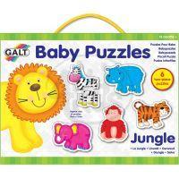 Galt Puzzle pro nejmenší - zvířátka v džungli 2