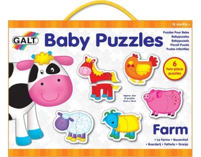 Galt Puzzle pro nejmenší Zvířátka na farmě 2