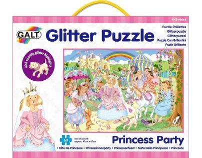 Galt Puzzle třpytivé Princezny 60 dílků
