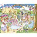 Galt Puzzle třpytivé Princezny 60 dílků 2