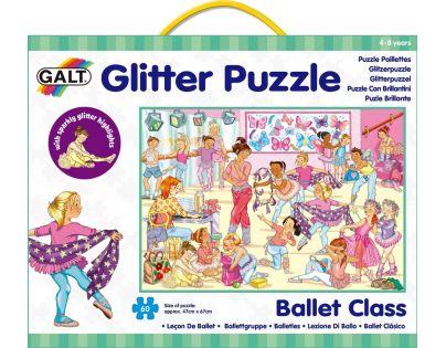 Galt Puzzle třpytivé Baletní třída 60 dílků