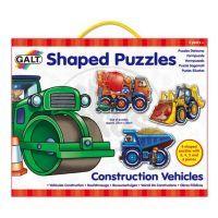 Galt Tvarované puzzle pracovní stroje
