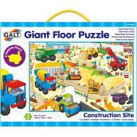Galt Velké podlahové puzzle Na staveništi